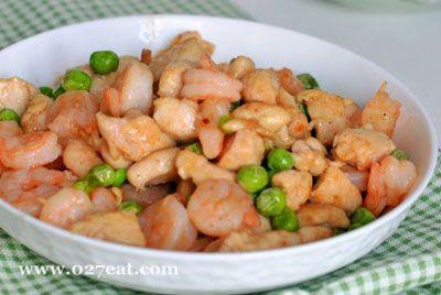 鸡丁炒虾仁的做法图片,如何做,鸡丁炒虾仁怎么做好吃详细步骤