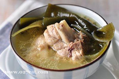 海带结棒骨汤的做法图片,如何做,海带结棒骨汤怎么做好吃详细步骤