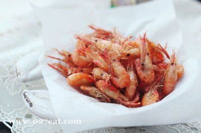 椒盐酥炸小河虾的做法