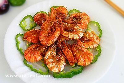 椒香大虾的做法图片,如何做,椒香大虾怎么做好吃详细步骤