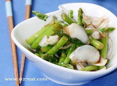 蚝油芦笋炒百合的做法图片,如何做,蚝油芦笋炒百合怎么做好吃详细步骤