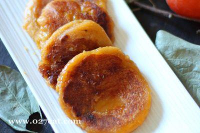 黄金柿子饼的做法