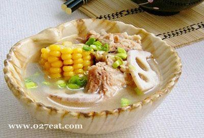 玉米排骨莲藕汤的做法图片,如何做,玉米排骨莲藕汤怎么做好吃详细步骤