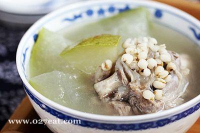 清火必备 薏米冬瓜排骨汤的做法图片,如何做,清火必备 薏米冬瓜排骨汤怎么做好吃详细步骤