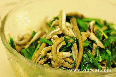面条鱼炒韭菜的做法图片,如何做,面条鱼炒韭菜怎么做好吃详细步骤