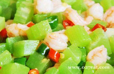 莴笋炒虾仁的做法图片,如何做,莴笋炒虾仁怎么做好吃详细步骤