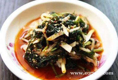 凉拌海青菜的做法图片,如何做,凉拌海青菜怎么做好吃详细步骤