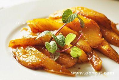 酒香蜂蜜肉桂芒果的做法图片,如何做,酒香蜂蜜肉桂芒果怎么做好吃详细步骤