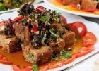 紫苏香煎豆腐的做法