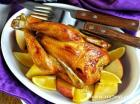 盐焗枫糖烤鸡的做法