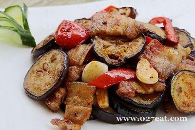 煎烤肉片茄子的做法