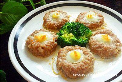 鹌鹑蛋蒸藕饼的做法图片,如何做,鹌鹑蛋蒸藕饼怎么做好吃详细步骤
