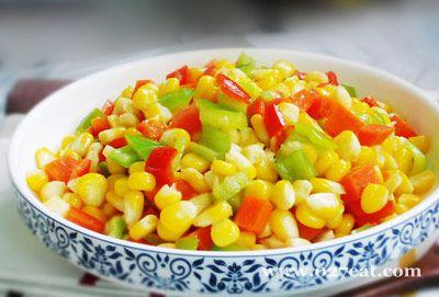 尖椒炒玉米的做法图片,如何做,尖椒炒玉米怎么做好吃详细步骤
