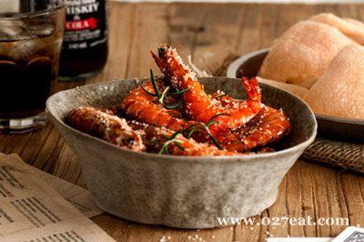 迷迭香盐烤大虾的做法图片,如何做,迷迭香盐烤大虾怎么做好吃详细步骤