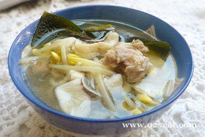 黄豆芽海带鱼片汤的做法图片,如何做,黄豆芽海带鱼片汤怎么做好吃详细步骤