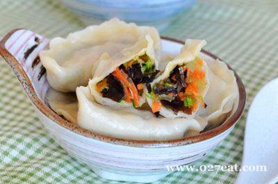 素菜水饺的做法