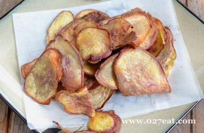 炸红薯片的做法图片,如何做,炸红薯片怎么做好吃详细步骤