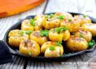 铁板金土豆的做法