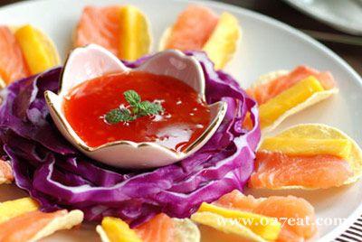 甜辣三文鱼的做法图片,如何做,甜辣三文鱼怎么做好吃详细步骤