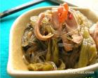 酸菜肚丝煲的做法