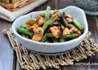 芽菜扁豆炒鸡片的做法