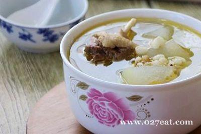 冬瓜薏米鸭汤的做法图片,如何做,冬瓜薏米鸭汤怎么做好吃详细步骤