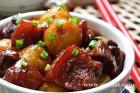 小土豆烧肉的做法