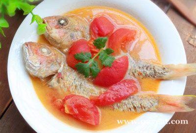 番茄红衫鱼汤的做法图片,如何做,番茄红衫鱼汤怎么做好吃详细步骤