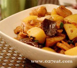 香菇土豆炖鸡肉的做法图片,如何做,香菇土豆炖鸡肉怎么做好吃详细步骤