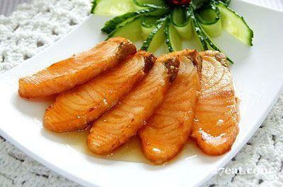 柠香蜜汁三文鱼的做法图片,如何做,柠香蜜汁三文鱼怎么做好吃详细步骤