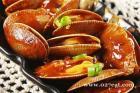 番茄红烩花蛤的做法