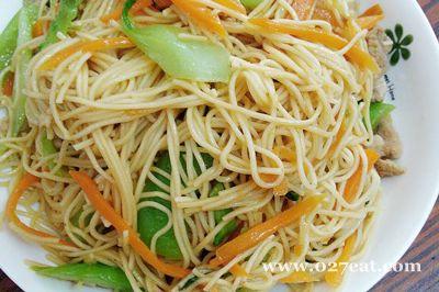 三丝炒面条的做法图片,如何做,三丝炒面条怎么做好吃详细步骤