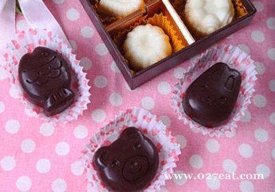 杏仁巧克力的做法
