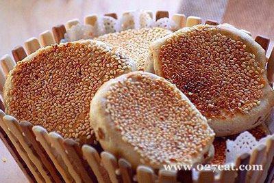 芝麻红豆饼的做法图片,如何做,芝麻红豆饼怎么做好吃详细步骤的做法