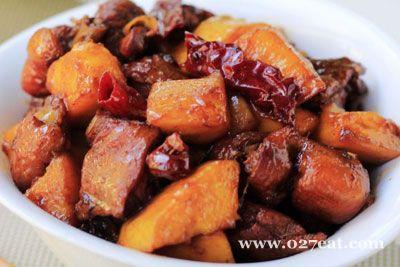 青芒果烧鸡块的做法图片,如何做,青芒果烧鸡块怎么做好吃详细步骤