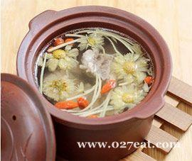 枸菊排骨汤的做法图片,如何做,枸菊排骨汤怎么做好吃详细步骤