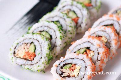 金枪鱼田园寿司的做法