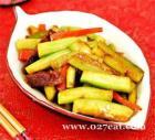 腊肠丝瓜胡萝卜的做法