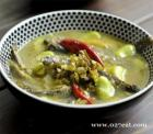 泥鳅雪菜蚕豆汤的做法