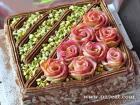 开心果蛋糕的做法