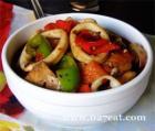 红烧鱿鱼豆腐的做法