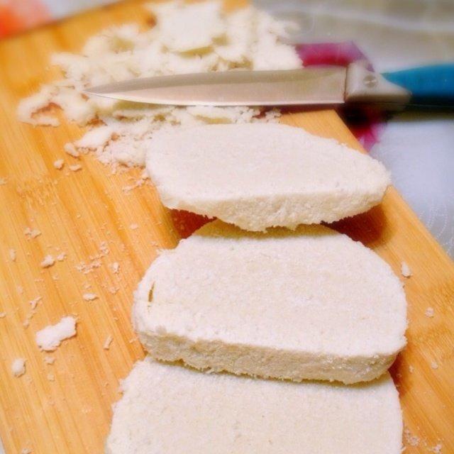 烤馒头干的做法第1步图片步骤 www.027eat.com