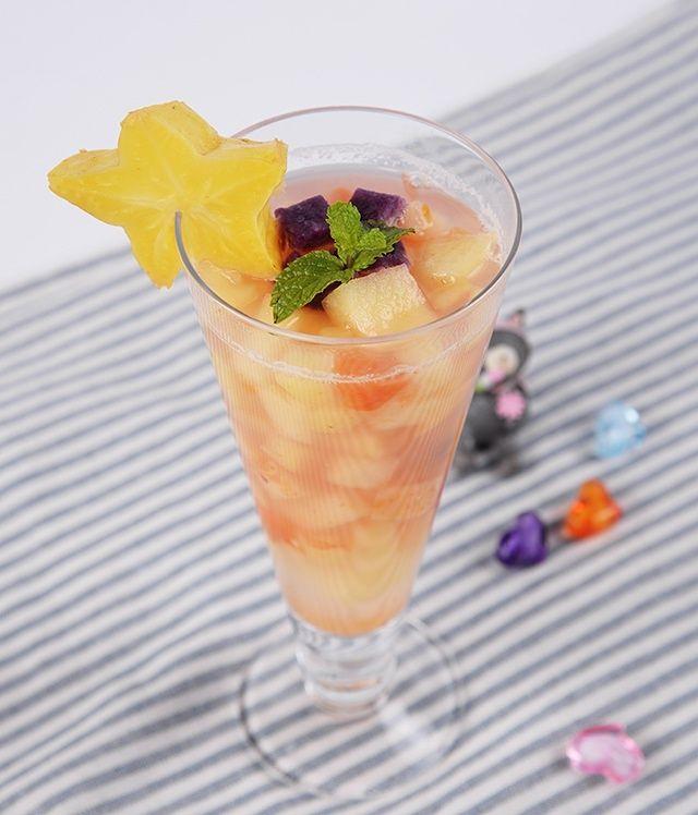 六色水果汤的做法第4步图片步骤 www.027eat.com