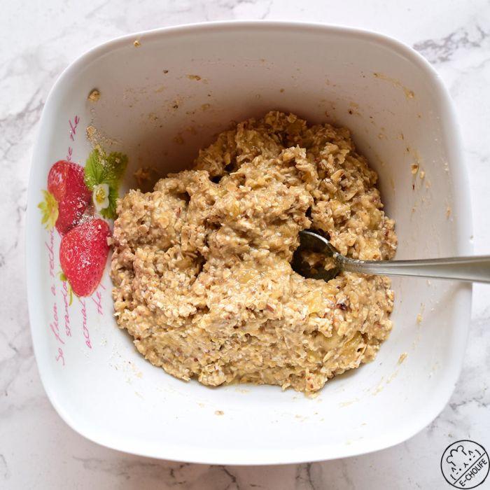 燕麦香蕉低脂减肥饼干的做法第1步图片步骤 www.027eat.com