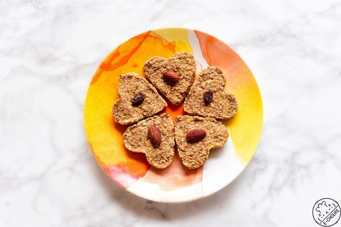 燕麦香蕉低脂减肥饼干的做法