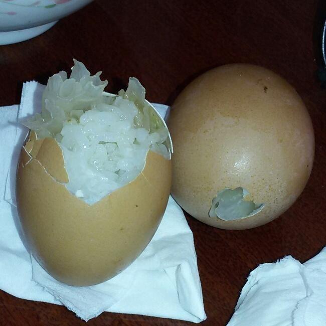 蛋壳饭的做法第1步图片步骤 www.027eat.com