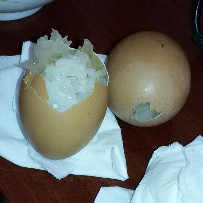 蛋壳饭的做法