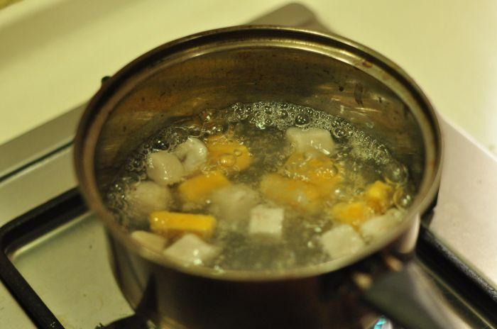 红豆芋圆甜汤的做法第14步图片步骤 www.027eat.com