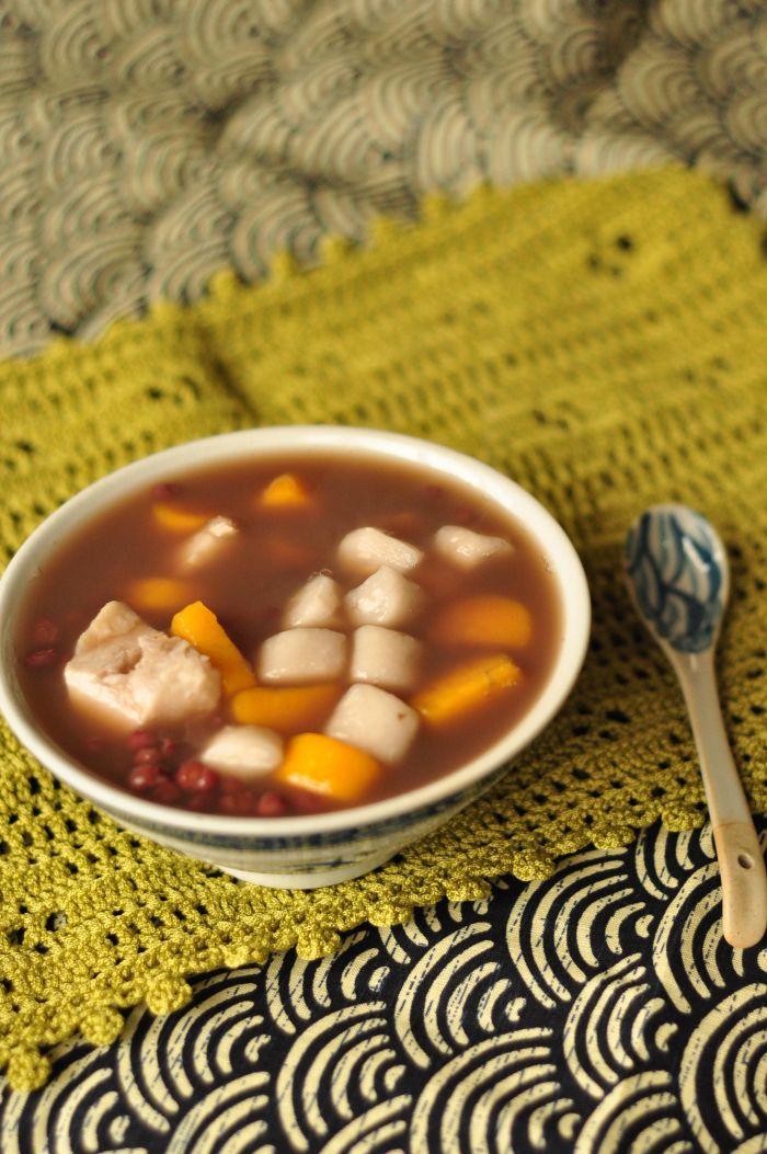 红豆芋圆甜汤的做法第17步图片步骤 www.027eat.com