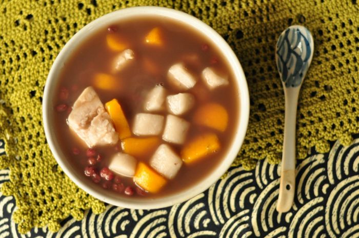 红豆芋圆甜汤的做法第18步图片步骤 www.027eat.com